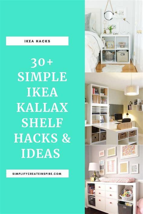 ikea kallax inspiration ideas hacks   room