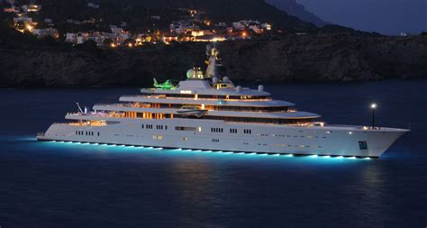 expensive private yacht   world