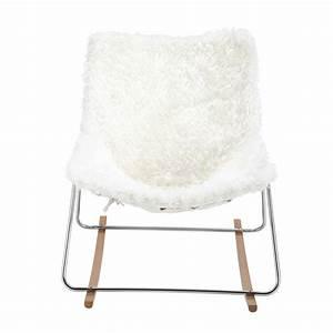 Fauteuil Crapaud Maison Du Monde : fauteuil en fausse fourrure guariche en tissu ivoire g1 ~ Melissatoandfro.com Idées de Décoration
