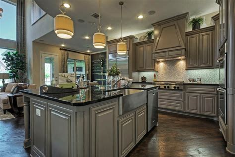 And Decor Plano Tx by Toll Brothers Plano Tx Model Contemporary Kitchen