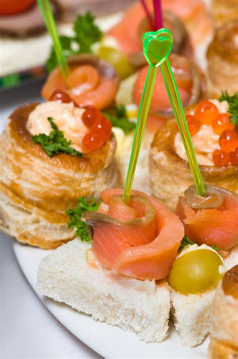 coforama canape seafood canapes royalty free stock images image 6779209