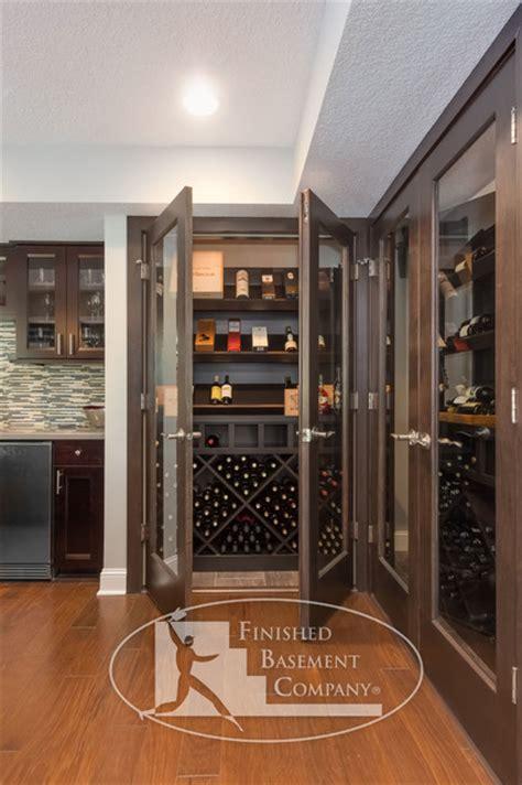 basement wine cabinet storage modern wine cellar