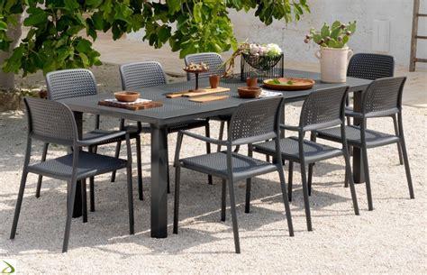 sedie e tavoli da esterno tavolo allungabile da giardino levante arredo design
