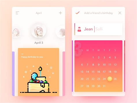 birthday calendar template word  psd eps ai