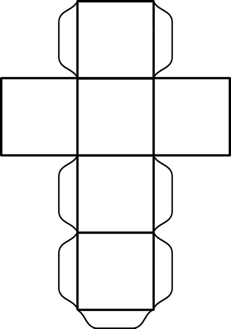 Cube Template 10 Best Images Of Cube Template For Teachers Paper Cube
