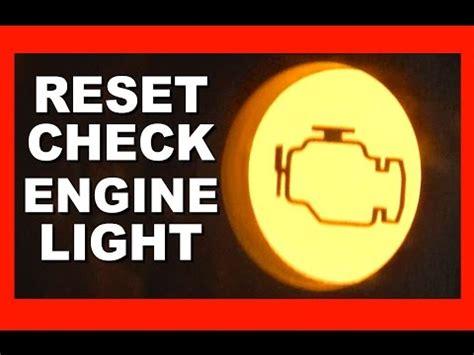 reset check engine light how to reset engine warning light toyota corolla vvt i