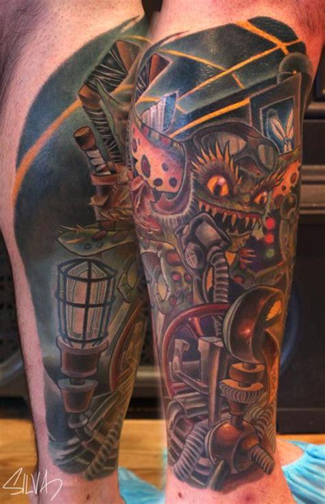 custom gremlin tattoo  marvin silva tattoos