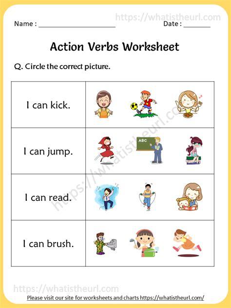 action verb worksheets st grade  home teacher