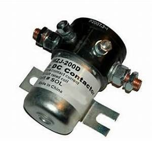 Heavy Duty Golf Cart 36volt 200a Contactor Solenoid Ezgo