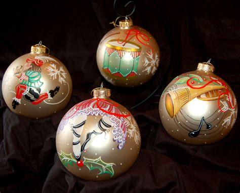 twelve days of christmas days 9 12 deb collins art