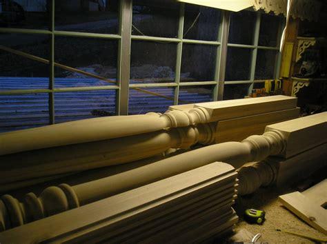 turning porch posts   katz  lumberjockscom