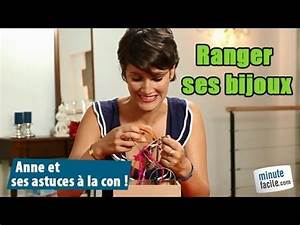 Comment Ranger Ses Bijoux : anne et l 39 astuce des bijoux youtube ~ Dode.kayakingforconservation.com Idées de Décoration
