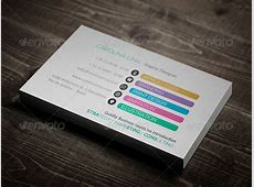 56 Visually Stunning PSD Business Card Templates Web