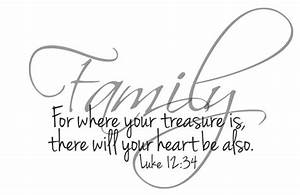For where your treasure is your heart will be there also ...