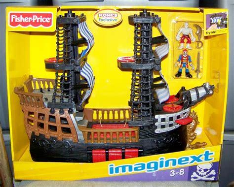 imaginext pirates  pirate ship set kohls exclusive ebay