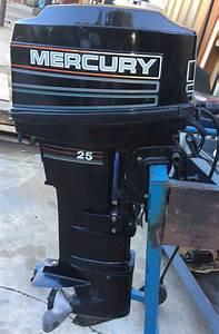 Mercury 25 Hp Long Shaft Electric Start