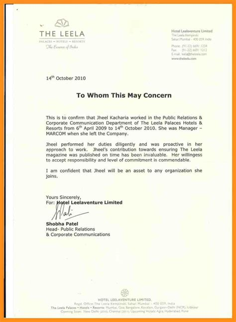Dentistry Work Experience Letter by Work Experience Certificate Sle