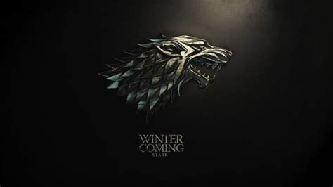 game  thrones sigils house stark hd wallpapers