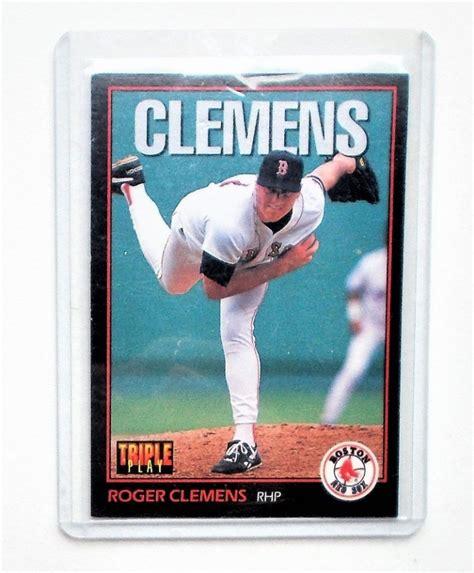 Get it as soon as fri, jun 4. eBlueJay: 1993 Triple Play #118 Roger Clemens Baseball Card