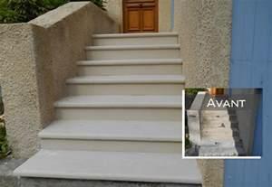 Habiller Escalier Exterieur Beton by R 233 Novation Escalier Escalier Tendance