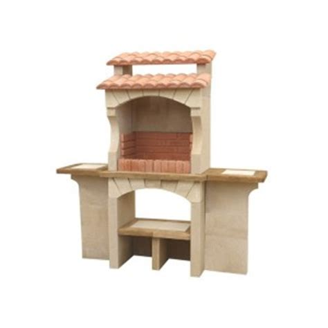 barbecue ext 233 rieur en traditionnel en brique b 233 ton pas cher cordoue