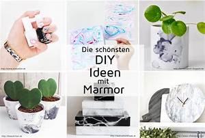 Bastelideen Mit Fotos : diy ideen mit marmor die sch nsten marmoriertechniken selbermachen ~ Orissabook.com Haus und Dekorationen