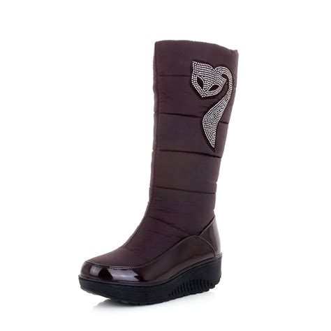 aisimi  winter russia  warm snow boots cotton shoes