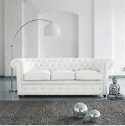 BEST High Quality White Leather Chesterfield 3 Seater Sofa Classical High Quality Cow Top Graded Genuine Leather Sofa Living Room Sofa Top Quality Living Room Furniture High Back Sofas Living Room Buy High Quality Living Room Furniture European Modern Leather Sofa