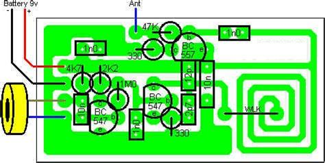 Wireless Microphone With Coil Pci Circuit Diagram