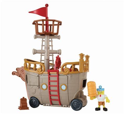 Barco Pirata Brinquedo by Imaginext Bob Esponja Barco Pirata Fisher Price Mattel