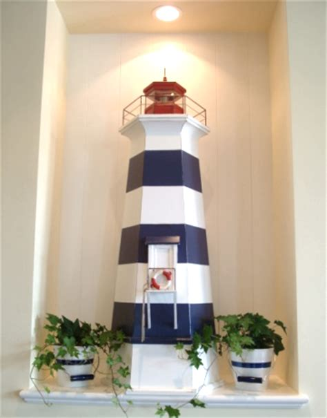 lighthouse bathroom decor ideas patriotic decorating ideas in white and blue