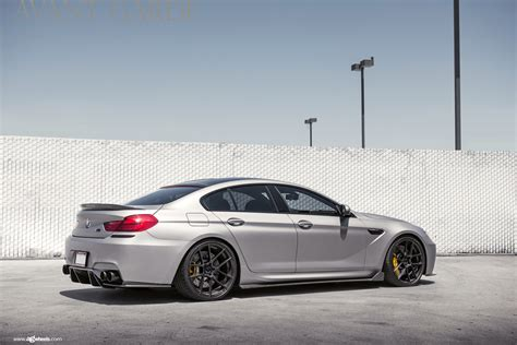 Cleanly Modded Bmw M6 Gran Coupe On Avantgarde Wheels