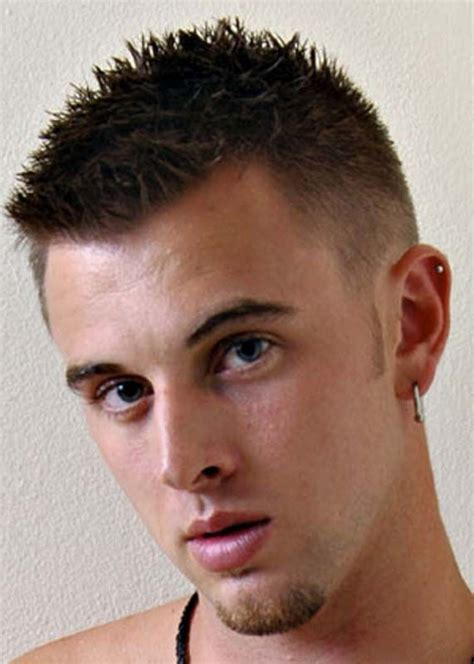 a haircut with a spiked top on haircuts for