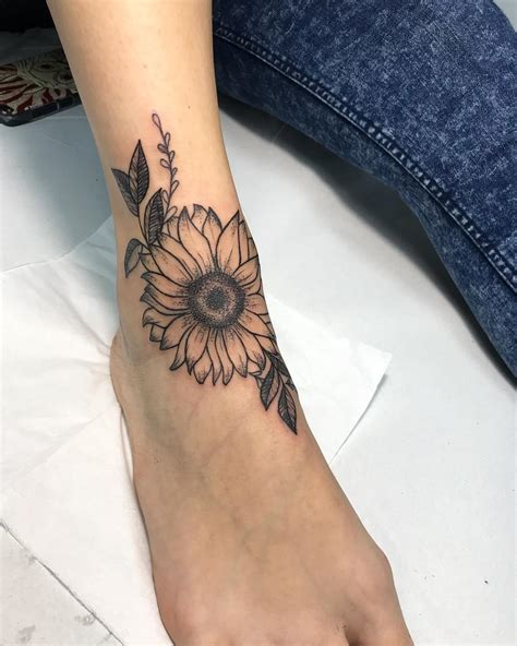 summer sunflower tattoos design  ideas