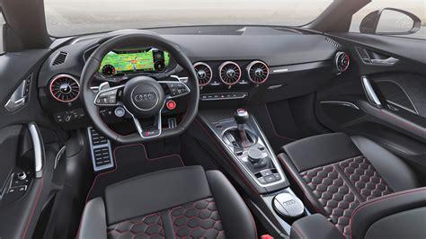 audi tt rs coupe  roadster  design updates autodevot
