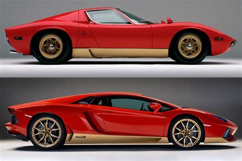 Lamborghini Vs Price by Lamborghini Celebrates Miura Golden Anniversary With
