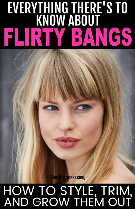 The Undeniable Sex Appeal Of Bangs Terrific Tresses
