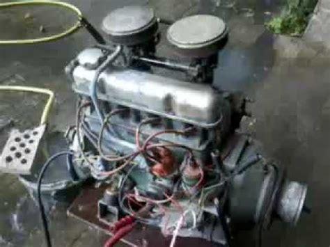 volvo penta  marine engine cold start youtube
