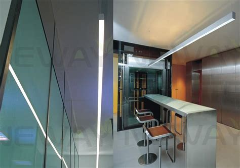 linear led display aluminum profile ceiling pendant l