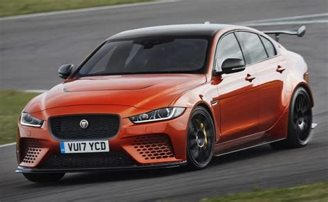 Jaguar Xe Hp by With 592 Hp The Jaguar Xe Sv Project 8 Really Roars