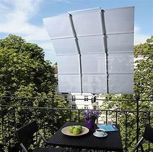 Sonnensegel Balkon Verschattung Klemm Markise Beschattung