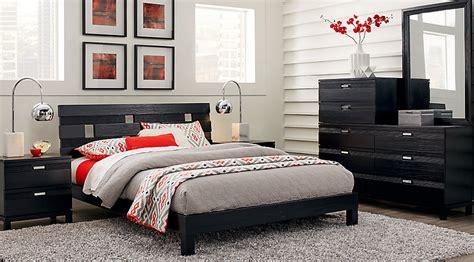 black bedroom furniture sets gardenia black 5 pc platform bedroom bedroom 14567
