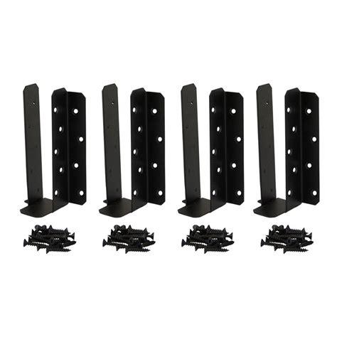 black decorative joist hangers owt ornamental wood ties 2 in post to beam decorative