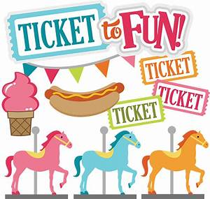 Ticket To Fun SVG carnival svg files county fair svg files ...