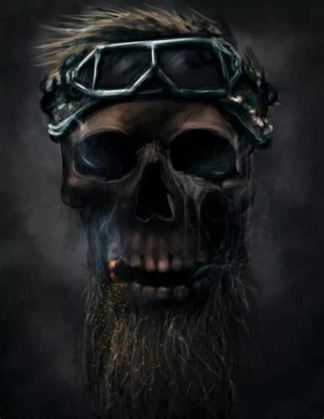 88 Best Images About Skull Beards On Pinterest Behance
