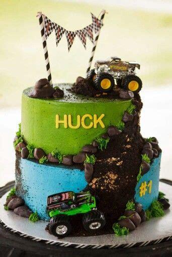 top   monster truck cakes ideas  pinterest
