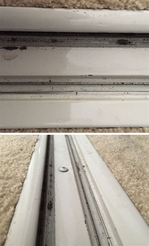 floor track for a stanley sliding mirror wardrobe door
