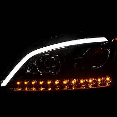 Headlights Benz Led Tube W164 Ml350 Drl