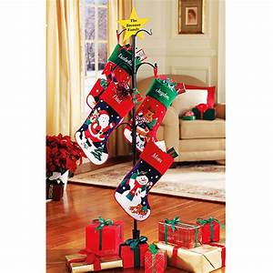 christmas stocking stand design decoration With best brand of paint for kitchen cabinets with floor stand candle holder