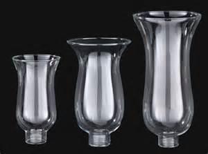 Clear Glass Hurricane Lamp Shades